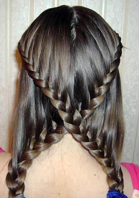 girls cute hair design