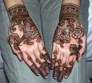 Arabic Mehndi style