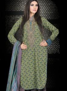 latest pakistani party wear dresses
