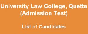 law college quetta