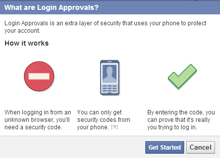 what are login approvals
