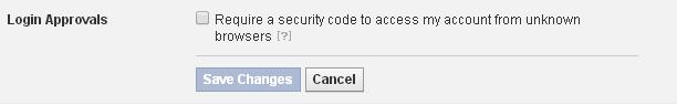 login approval dialog box