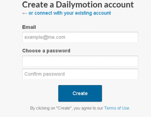 put the email address and password in this field