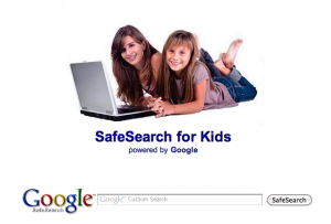 Google Safe Search Setting Tool for kids