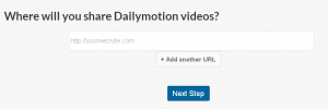 Where will you share dailymotion videos