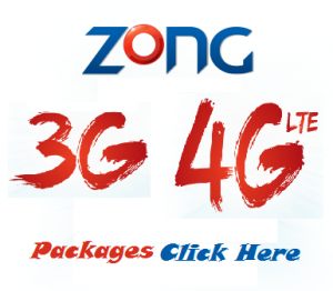 Zong Launches Its 3G And 4G Services Commercially