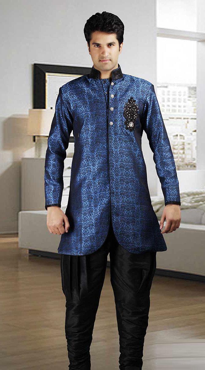 Eid ul Fitr kurta design for Men 2014 Collection
