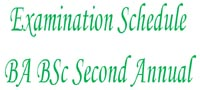 BA BSc Second Annual Examination 2014 IUB