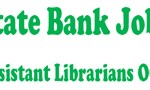 Jobs in Pakistan Assistant Librarians OG2 State Bank