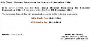 punjab university admission schedule 2014