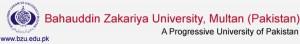Aadmission Notice 2014 Postgraduate Undergraduate Programs BZU