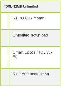 broadband ptcl