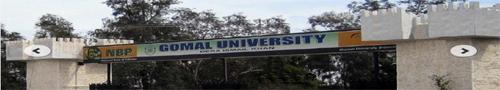 Master Admission 2014 Gomal University