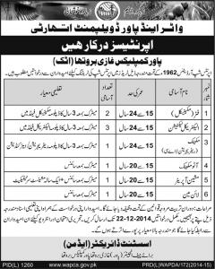 Wapda Jobs In Pakistan 2014 Attock