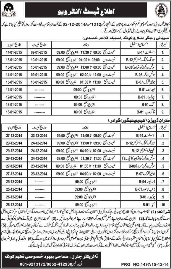 Social And development Sector jobs