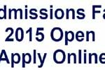 Namal College Mianwali Admission 2015