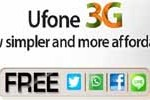 Ufone 3G Internet Packages Subscription Details