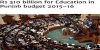 Punjab Budget 2015-16 Announced Rs310 Billion
