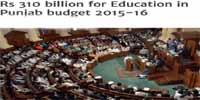 Punjab Budget 2015-16 Announced Rs310 Billion