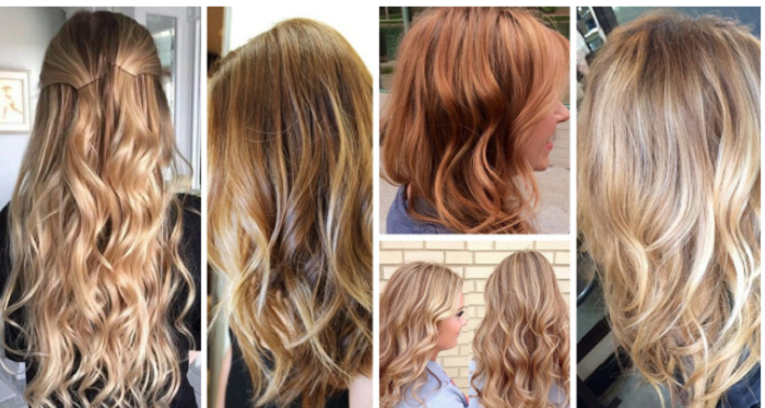 Hair Color Trends 2017 2018 Highlights Crimson And Blonde Colors Ideas Liked On Polyvore Source By Fashionviral
